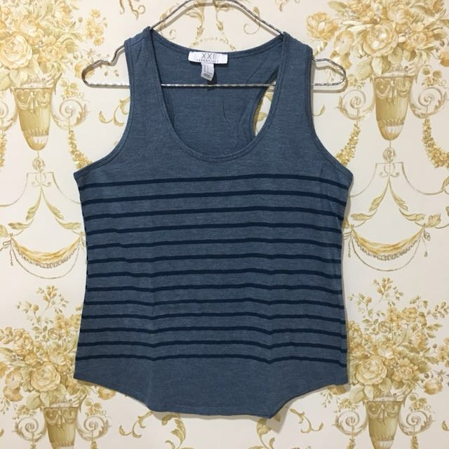 Forever21 stripes tanktop