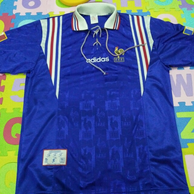 France World Cup Jersey Jersi 96 97 bfb0b5bd0