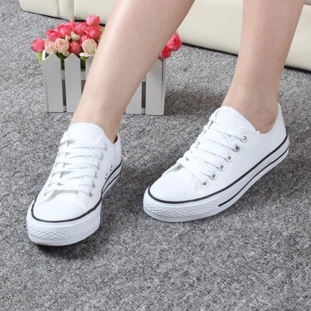 (Free Postage) sneakers canvas shoes inspired converse vans