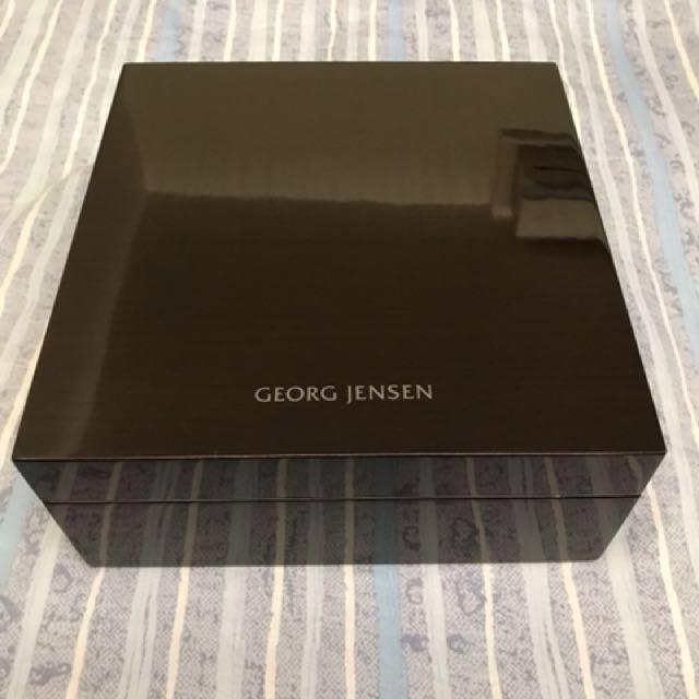 Georg Jensen 喬治傑生VIP限定年度項鍊耳環飾品收納盒珠寶盒
