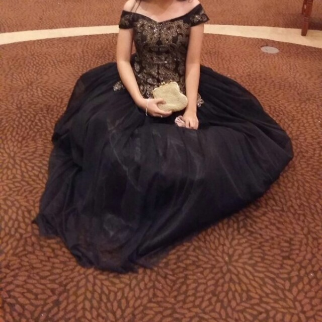 GRAND BALL/JS PROM GOWN FOR RENT OR FOR SALE, Preloved Women\'s ...