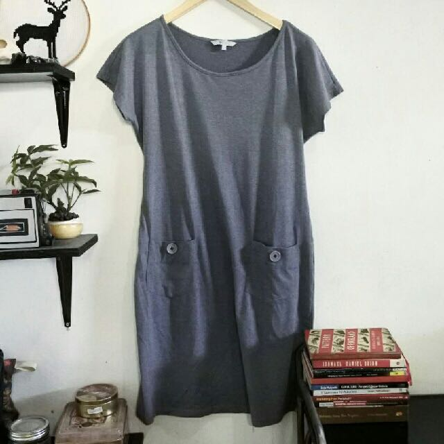 Grey Dress / Blouse