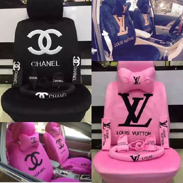 Gucci Chanel Lv Car Seat Cover Car Parts Accessories On Carousell
