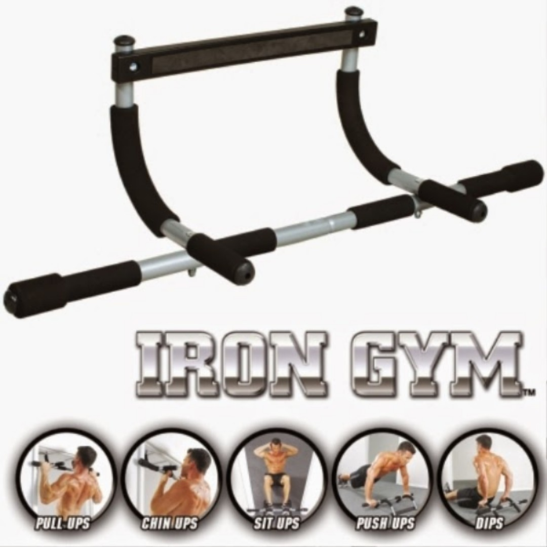 Gym Upper Door Body Workout Chin Pull Push Up Bar Workout