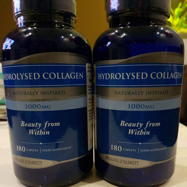 Holland Barrett Hydrolysed Collagen Health Beauty Bath Body