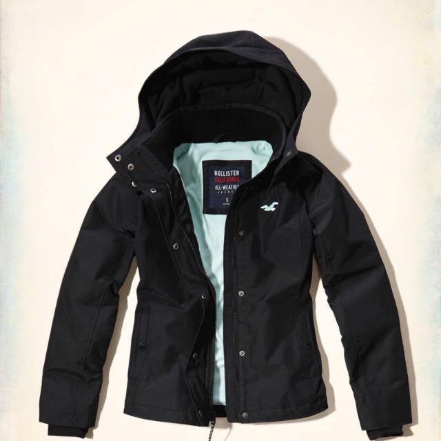 Hollister All-Weather Fleece Lined Jacket