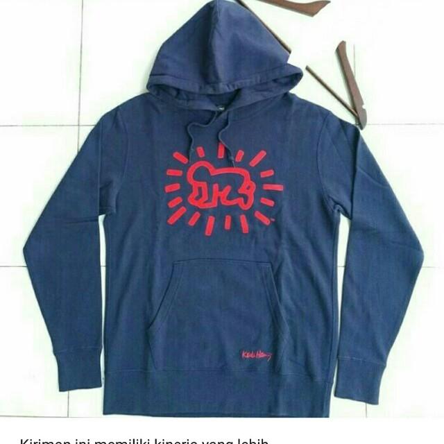 Hoodie Uniqlo Keith Haring