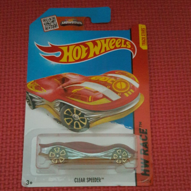 HOT WHEELS CLEAR SPEEDER