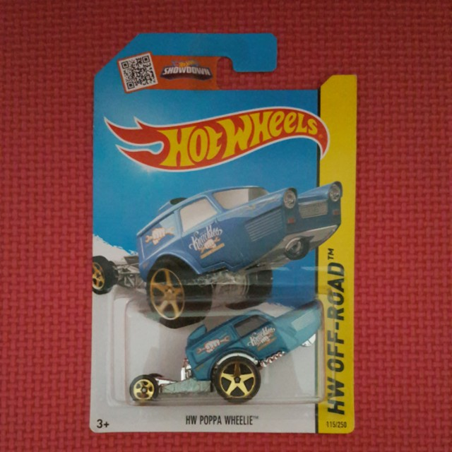 HOT WHEELS HW POPPA WHEELIE