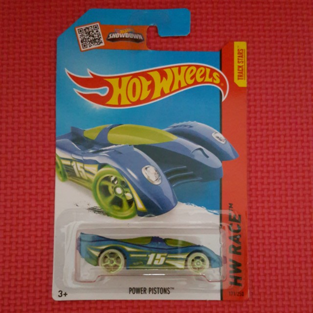 HOT WHEELS POWER PISTONS
