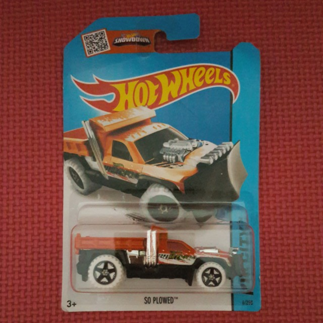 HOT WHEELS SO PLOWED