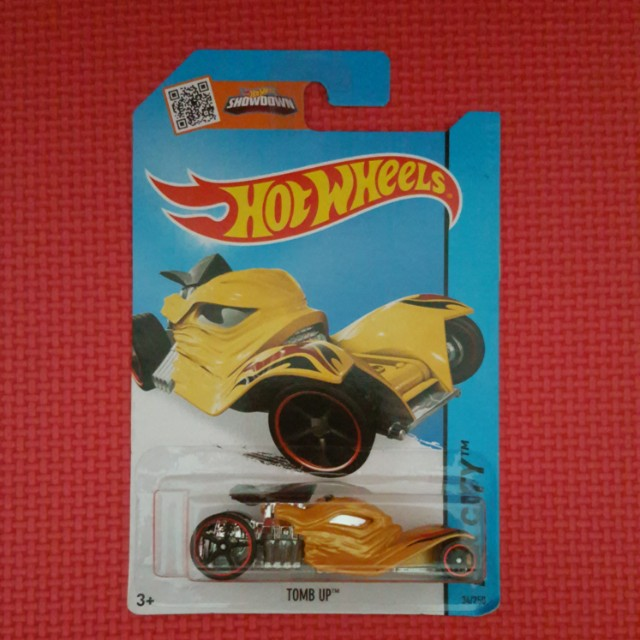 HOT WHEELS TOMB UP