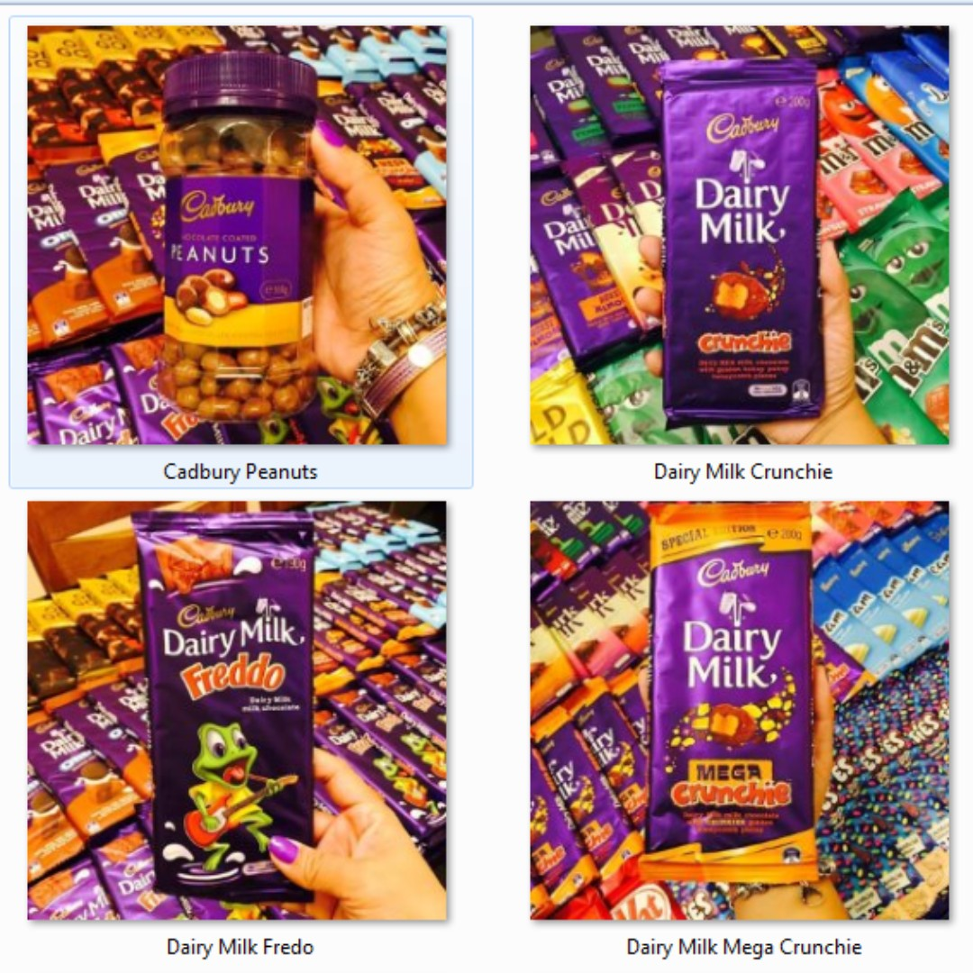 IMPORTED CHOCOLATES!! CADBURY DAIRY MILK