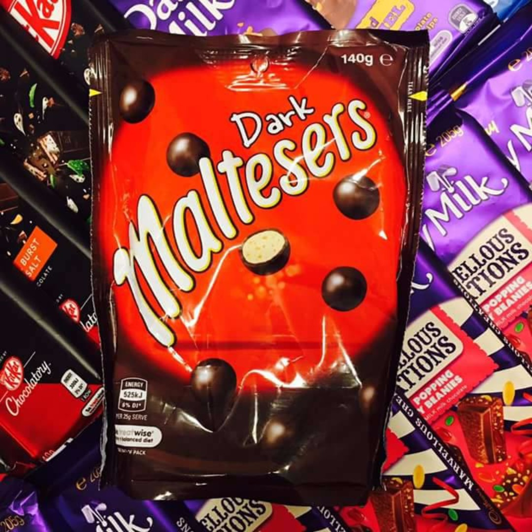 IMPORTED CHOCOLATES!! MALTESERS
