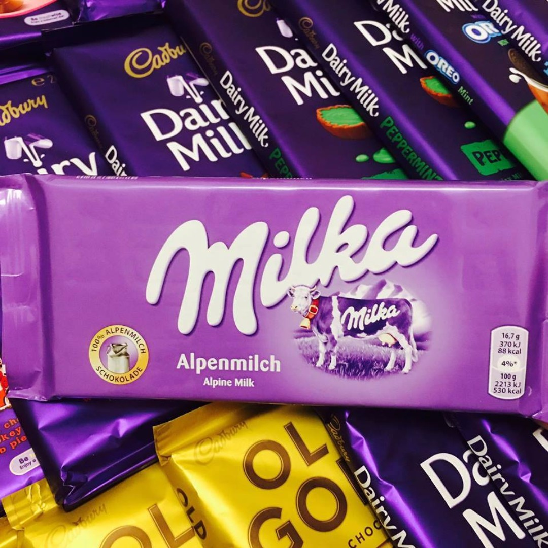 IMPORTED CHOCOLATES!! MILKA
