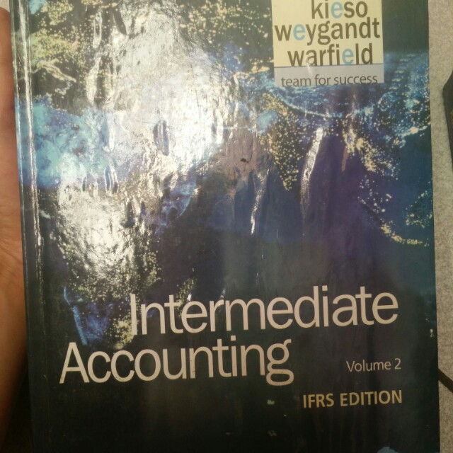 Intermediate accounting volume 2
