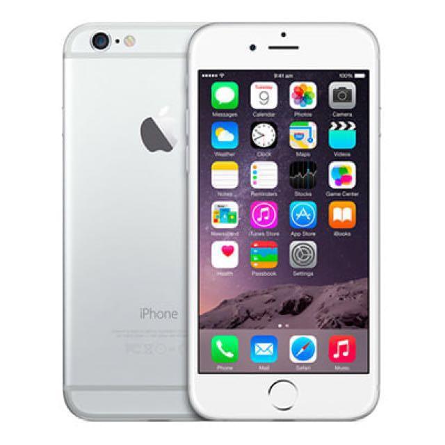 iPhone 6 64G 銀(可議)