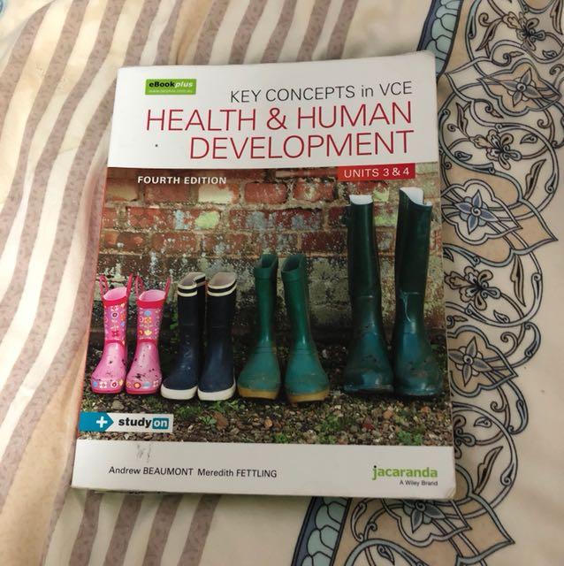 Jacaranda health and human development unit3&4