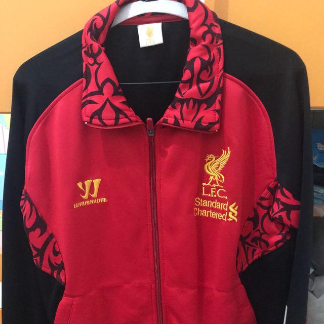 Jacket liverpool all size fit S-L kecil (beli di Bangkok)