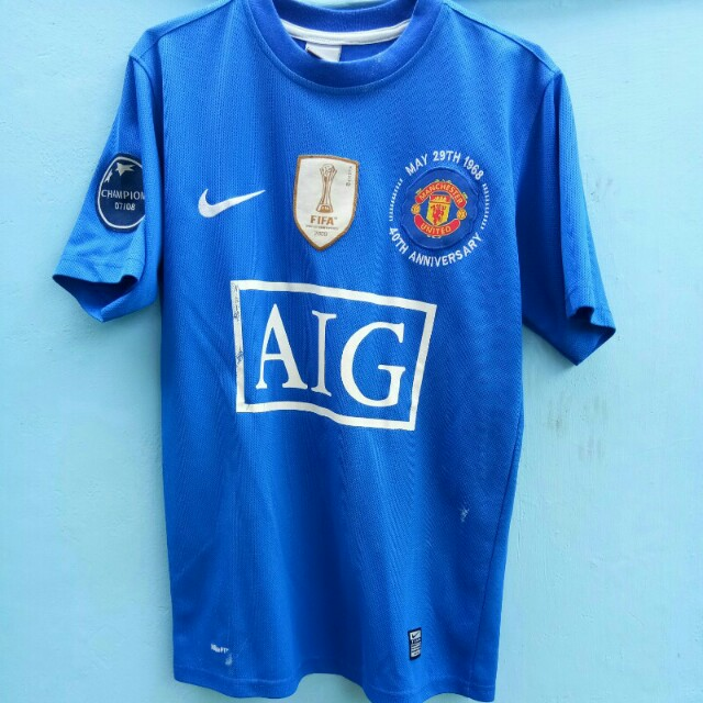Jersey 3rd Manchester United 2009 - Patch FIFA, UCL