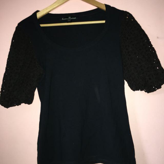 Kamiseta black blouse