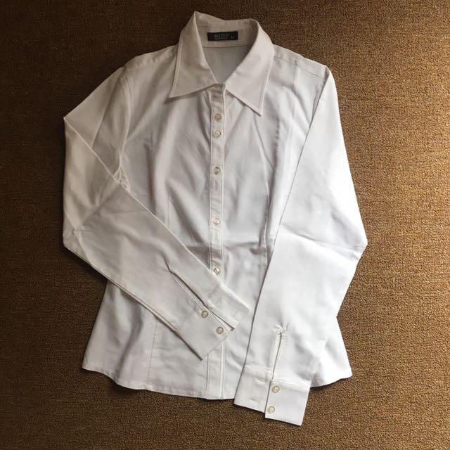 Kemeja putih wanko size 34