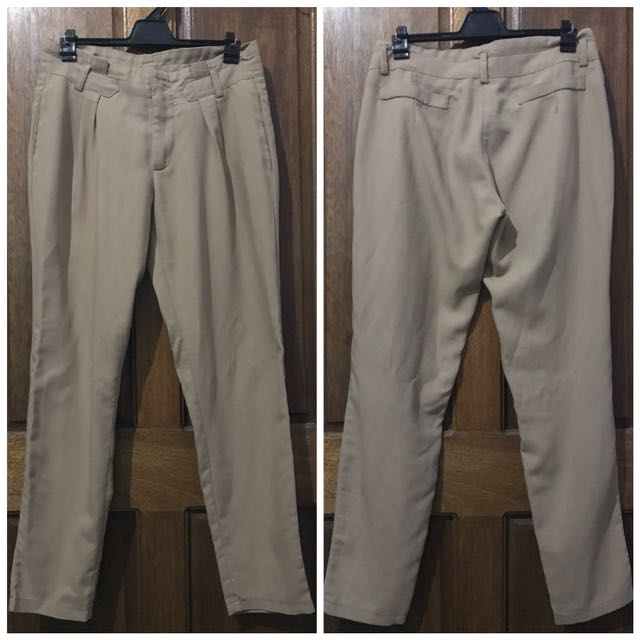 Khaki Office Pants