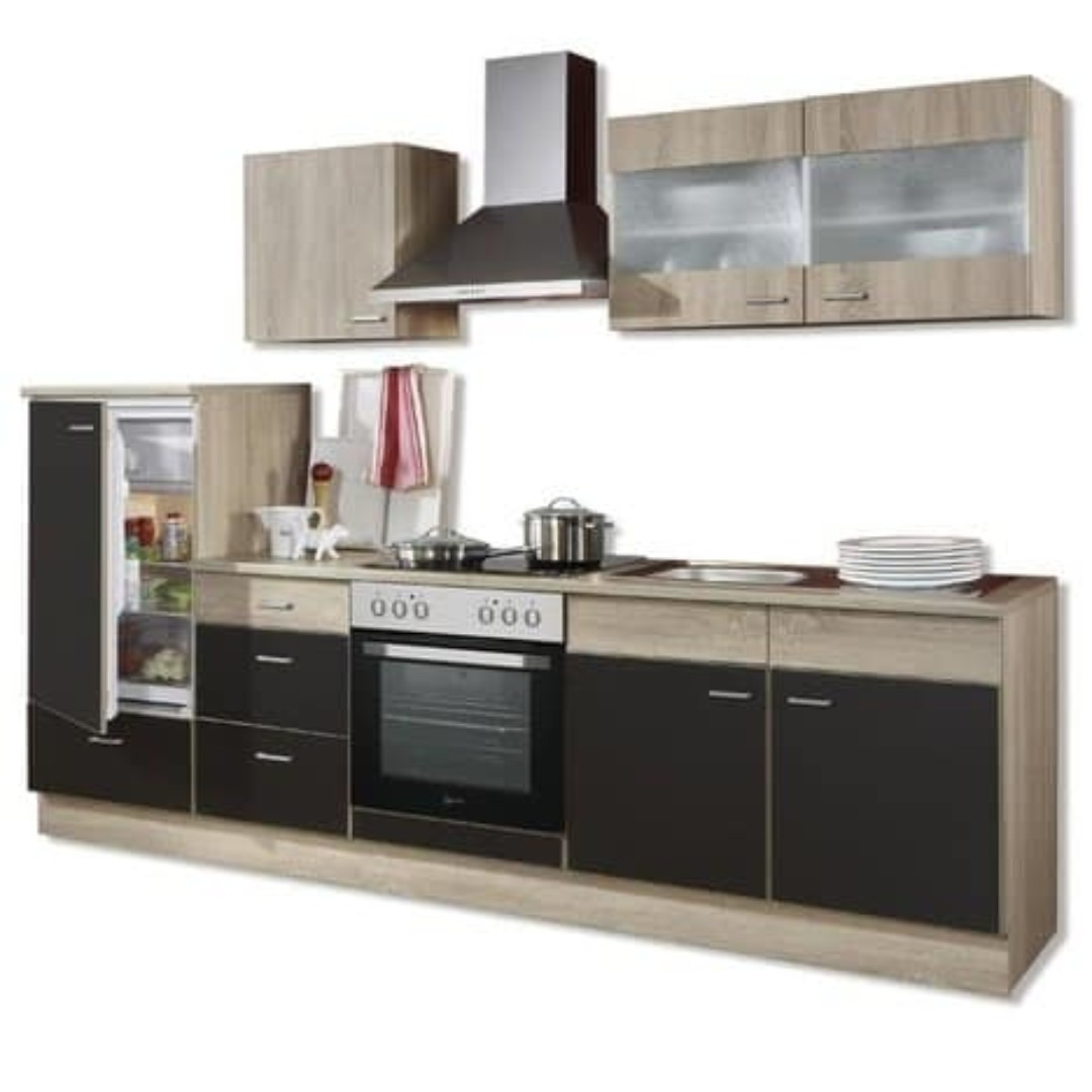 Kitchen Cabinet 270cm Incl E Appliances And Sink Furniture