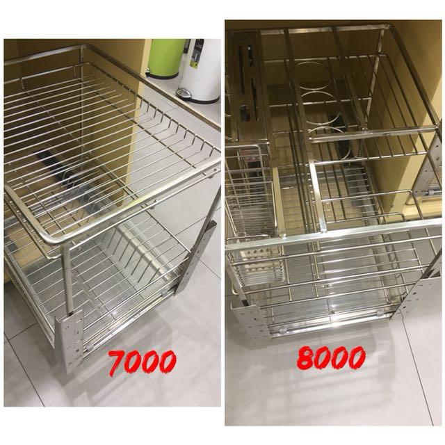 Kitchen utensils rack