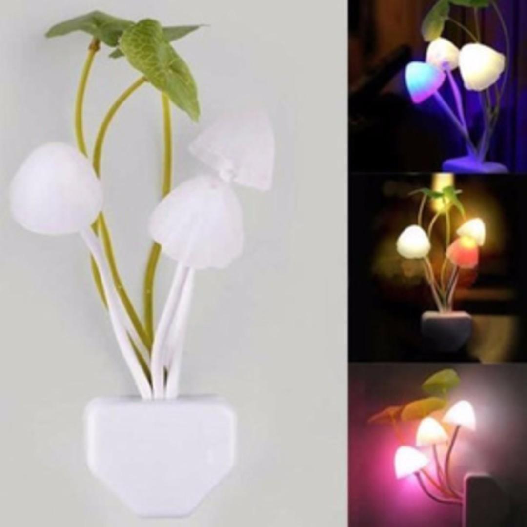 Lampu Tidur LED Mushroom