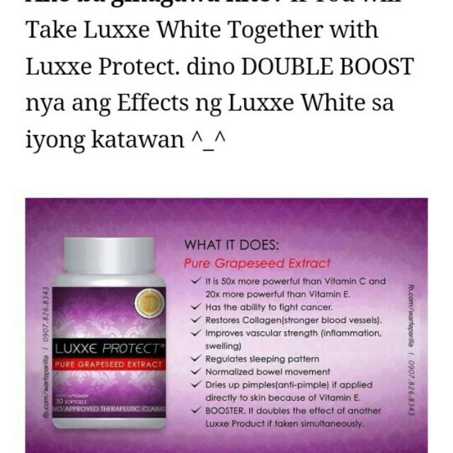 luxxe white on Carousell