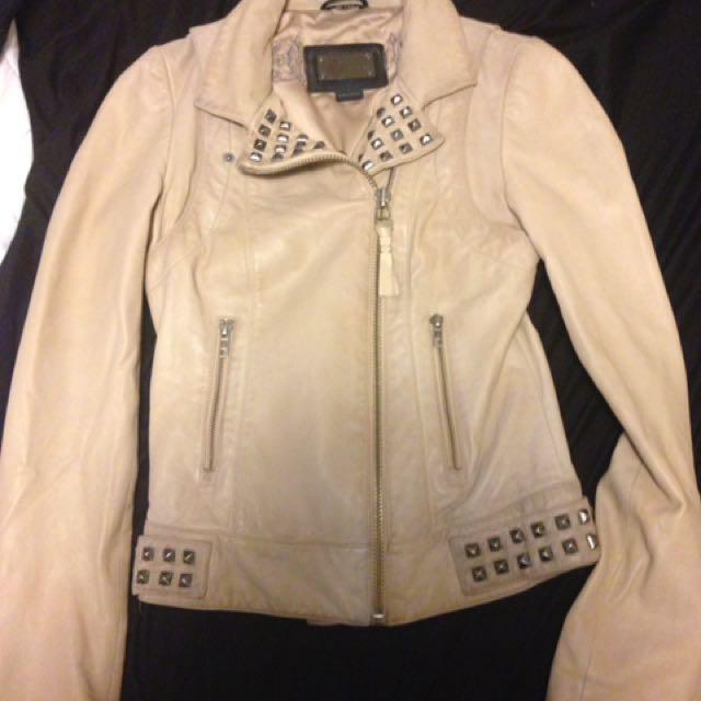 Mackage leather jacket XXS
