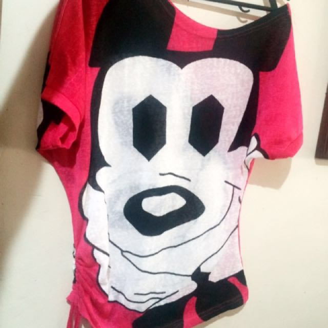 Mickey pink top