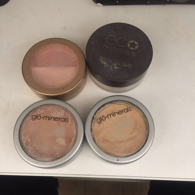 Mineral concealers & highlight