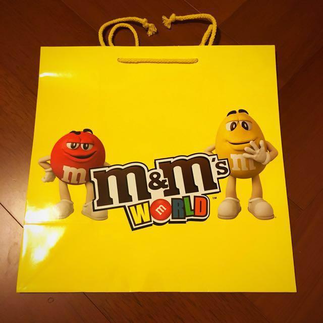 M&M 紙袋 30.5*30.5cm