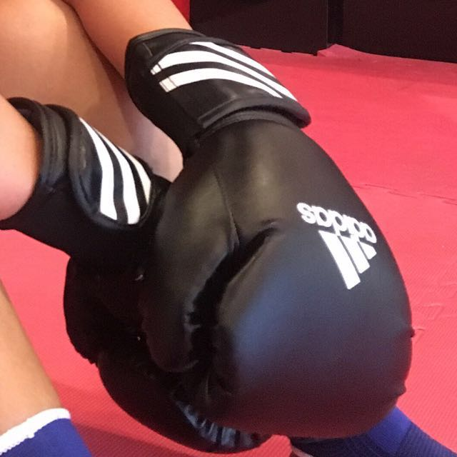 Muaythai Boxing Gloves Adidas Ori