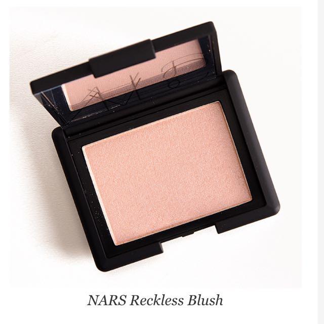 Nars Highlighting Blush in Reckless