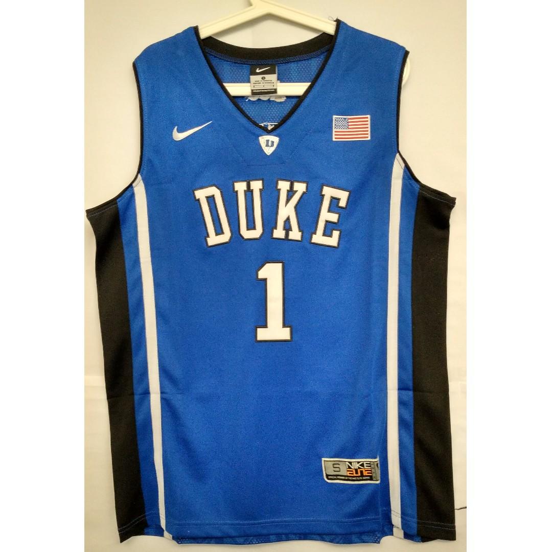 huge selection of d4d30 165be NCAA Swingman Jersey Kyrie Irving Duke Blue Devils #1 Blue ...