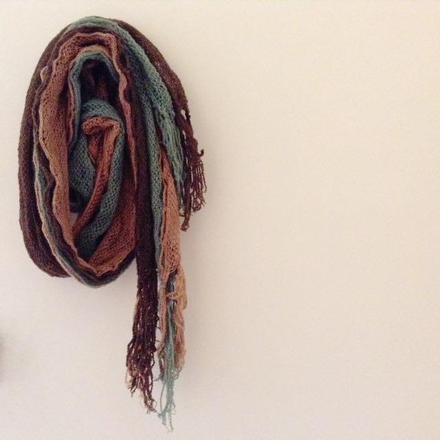Net薄圍巾