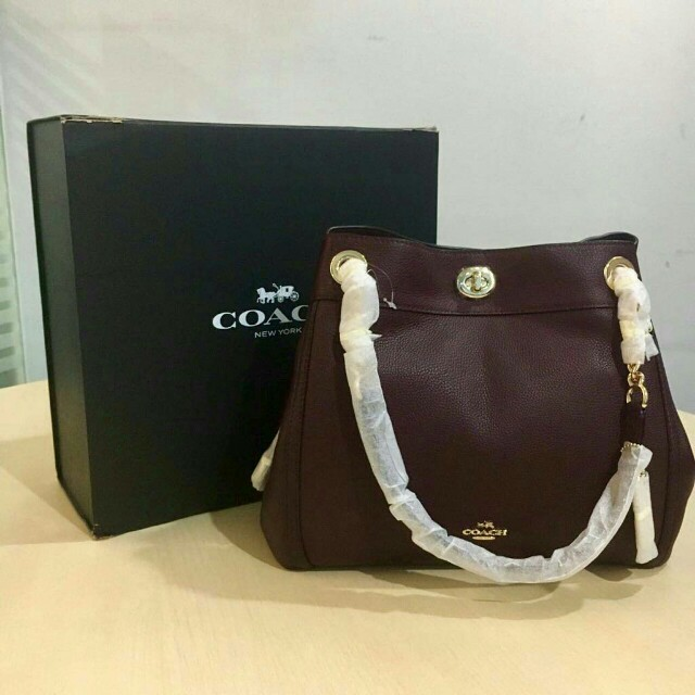 NEVER BEEN USED alias NEW!! COACH BAG (100% ORIGINAL!)