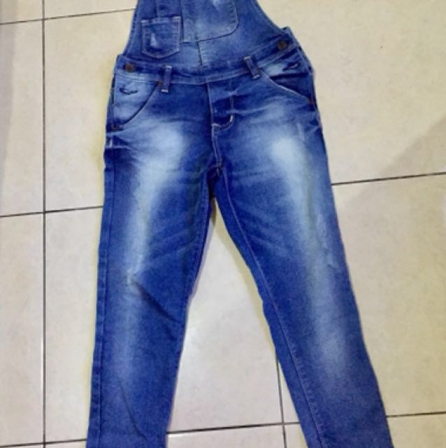 new - overall jeans