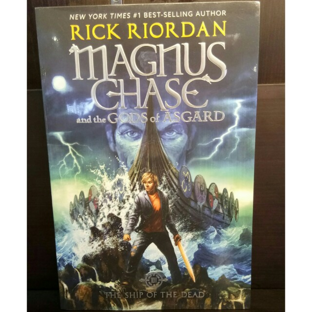 <new> English Novel Magnus Chase Ships of The Dead - Rick Riordan, buku Hyperion