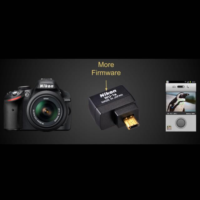 Nikon Wireless Mobile Adapter Wu 1a Photography On Carousell