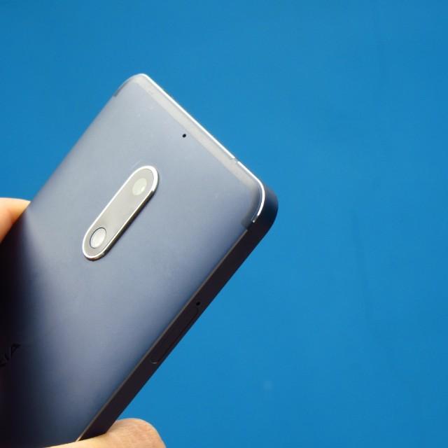 Nokia 6 tampered blue