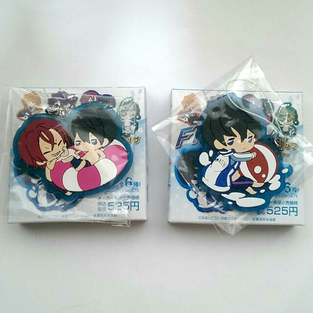 [OFFICIAL] Free! Clear Rubber Strap -in vacation- Haru & Rin