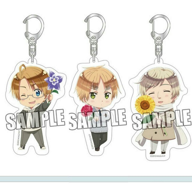 [OFFICIAL] [Pre-Order] Hetalia The Beautiful World Acrylic Keychains