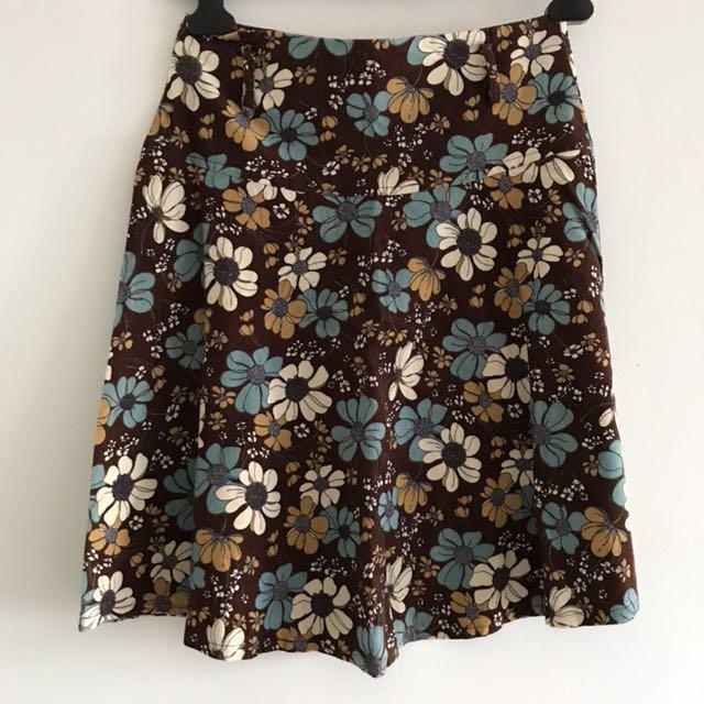 Over knee skirts
