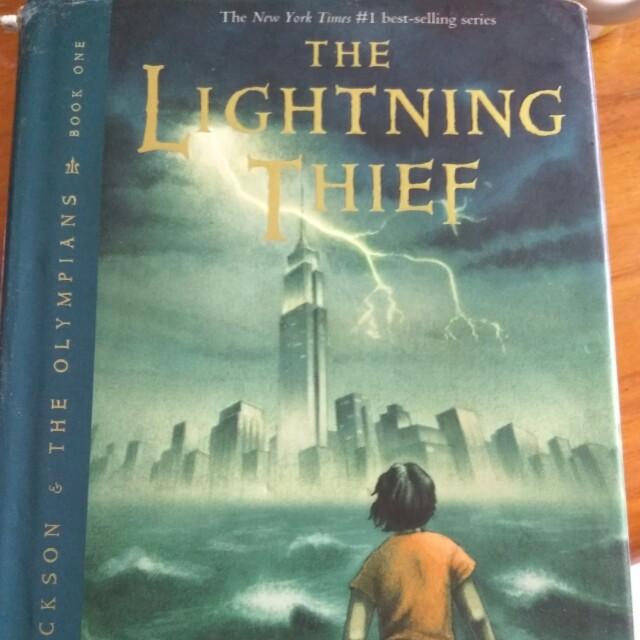 percy jackson the lightning thief books stationery fiction on