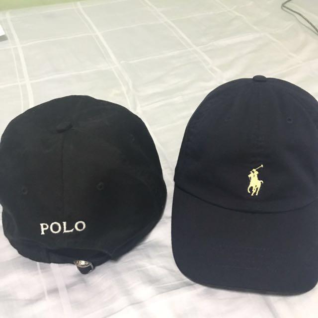 POLO RALPH LAUREN CAP (black blue) e005a875997