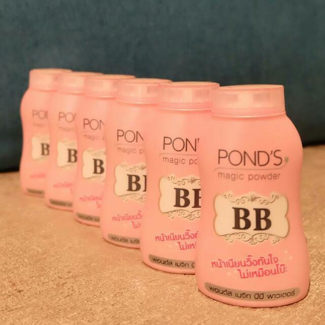 ponds bb magic powder Ready!